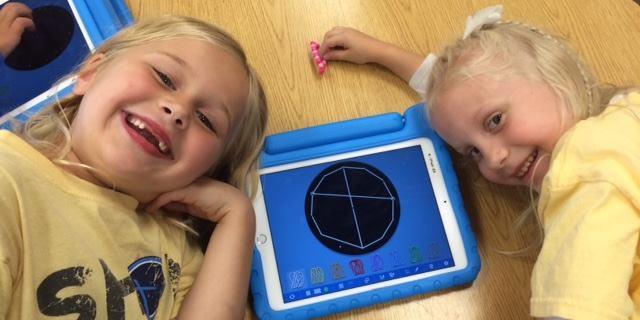 Kindergarteners take on Graphic Design