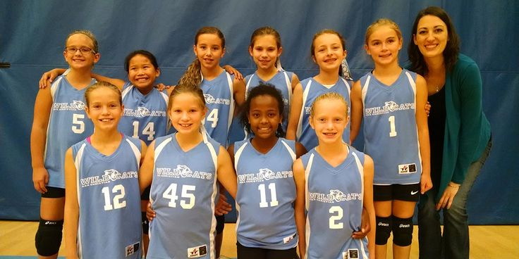 5th grade girls volleyball -team photo