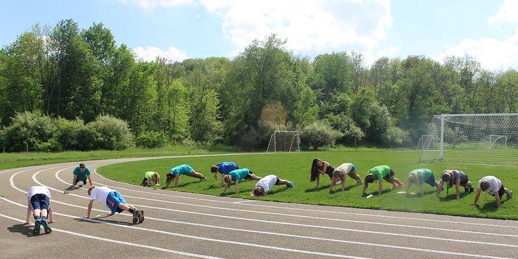 Track -strengthening