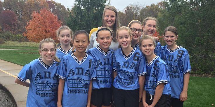 7th Grade girls volleyball team