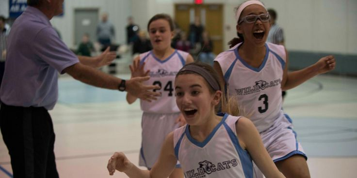 6th grade girls basketball -2016 -celebration