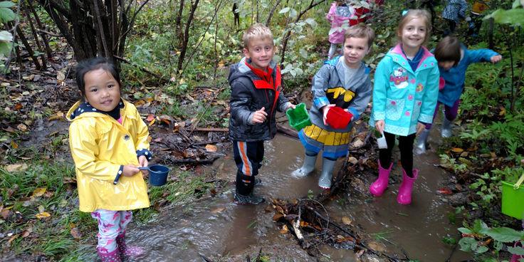 Preschool Creek Play