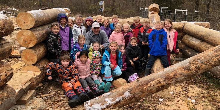 Kinder Log Cabin