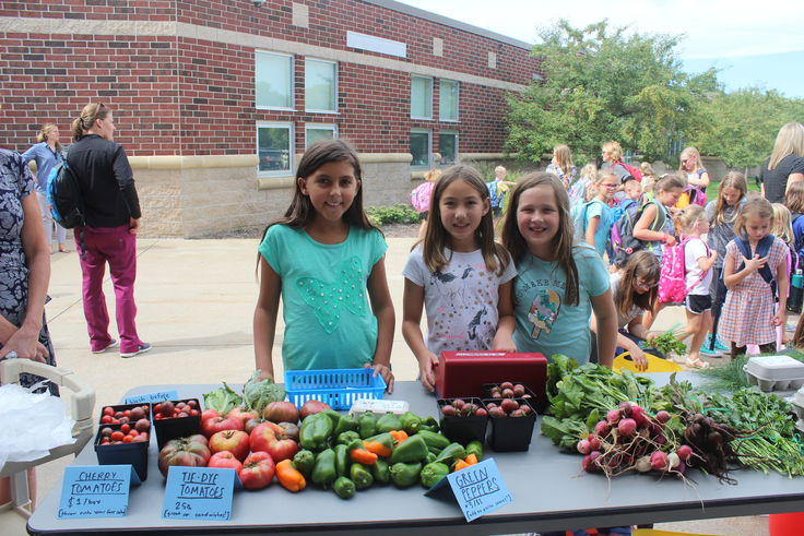 Farm Market 4th grade