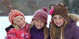 outside -girls -snow