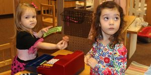 preschool -girls -cash register