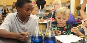 classroom buddies -boys -science