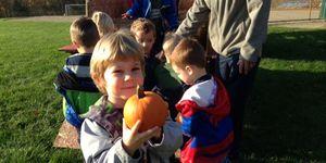 Preschool -pumpkin boy