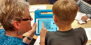 Kindergarten -technology -iPad -recording
