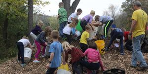 Outdoor Education -chipping in