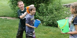 3rd Grade -Fallasburg Park -water fight