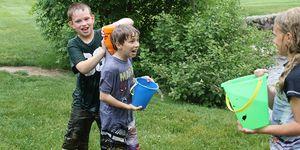 3rd Grade -Fallasburg Park -water fight