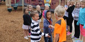 3rd Grade -buddies -playground