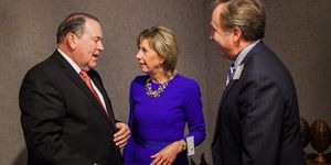 Foundation Dinner 2015 -Meeting Mike Huckabee