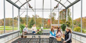 Students Greenhouse
