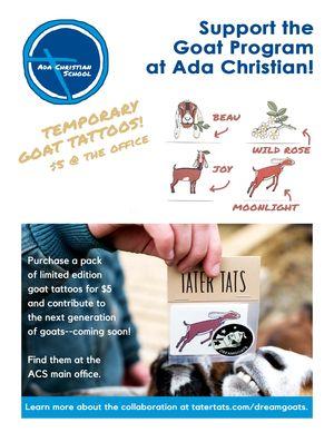 Enlarge image Goat Tattoos