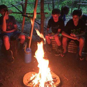 Adventure Camp Fire