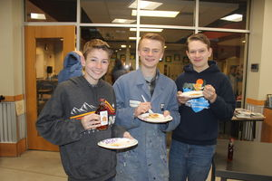 Pancake Breakfast Boys