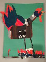 Enlarge image Rooster Artwork