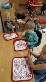 Preschool Salt Trays