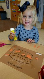 Preschool Carrot Cake Project